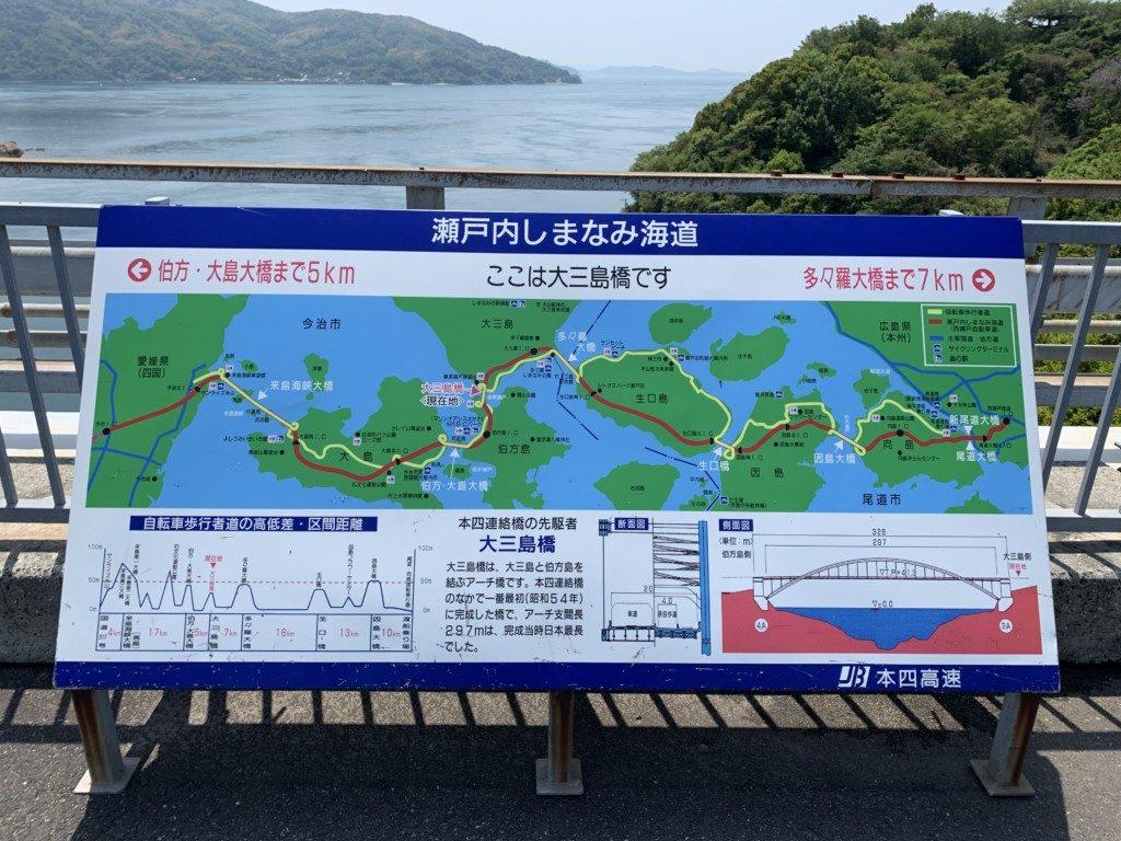 しまなみ海道Map